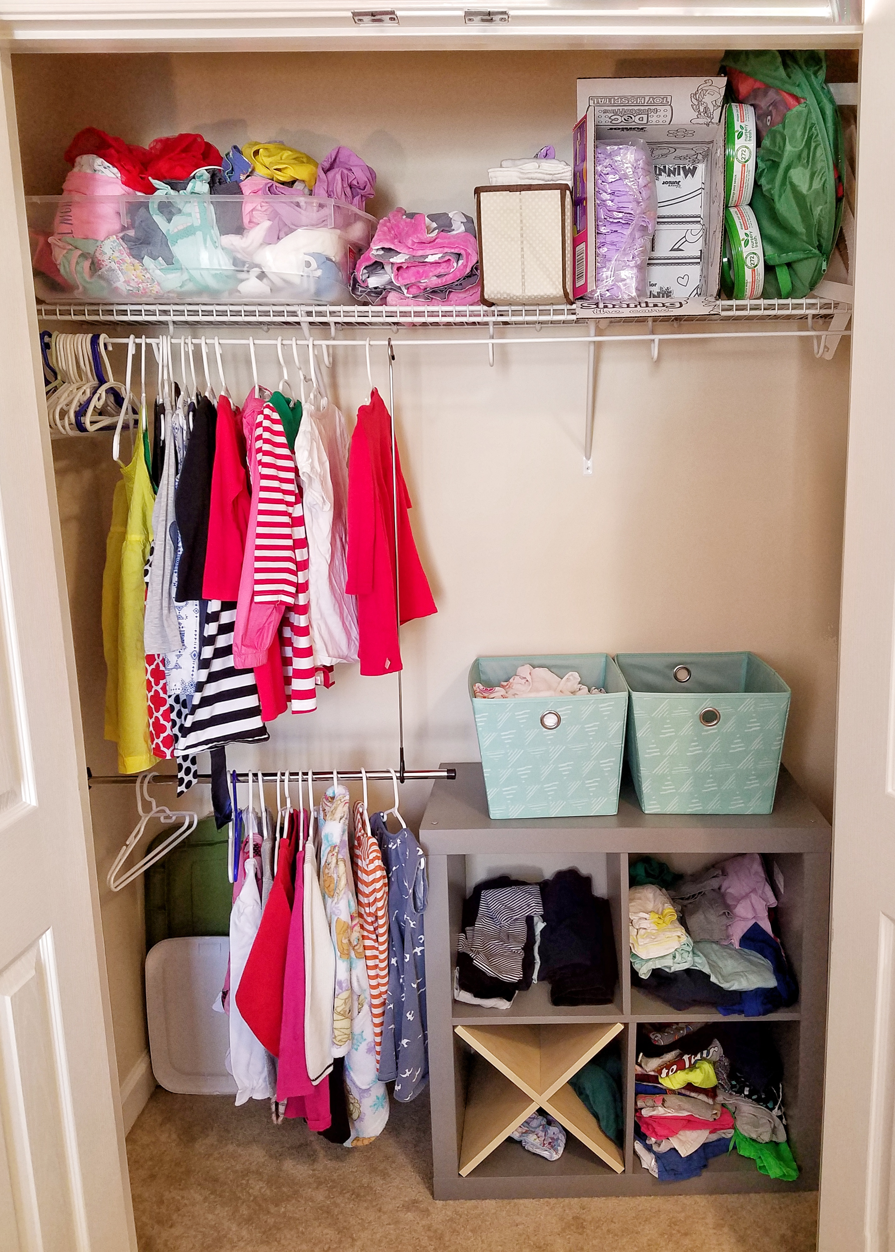 Your Kids Can Pick Out Their Own Clothes Every Day with this Montessori Closet