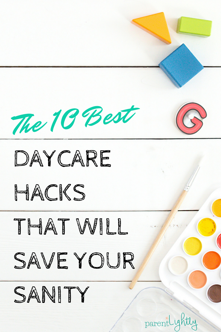 I LOVE these tips! Printable, personalized Amazon gift cards have saved me on the last day of Teacher Appreciation Week more times than I can count. The logistics of daycare can be tough, but these are some of the best daycare hacks I've seen to make it all easier for the whole family.
